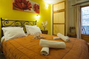 Double room, Pitho Hotel, Delphi, hotels, rooms, vacations, accommodation, Parnassos, Greece
